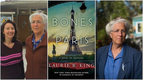 Laurie R King, Ruth Copland, The Bones of Paris
