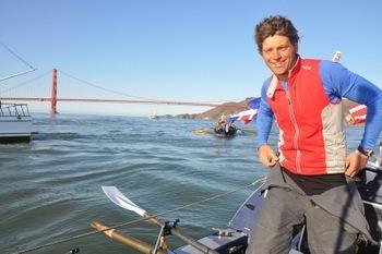 Mick Dawson on the Pacific Ocean