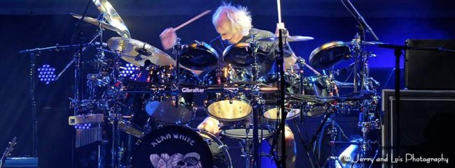 Alan White Drumming