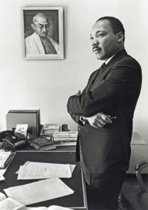 Martin Luther King. Bob Fitch Photography Archive. © Stanford University Libraries, Department of Special Collection