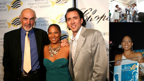 Sir Sean Connery, Leslie Vanderpool and Nicolas Cage