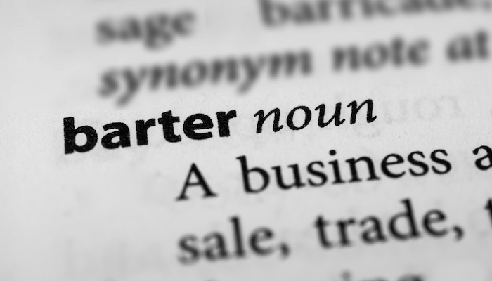 Should Bartering Be Part Of The Economy?
