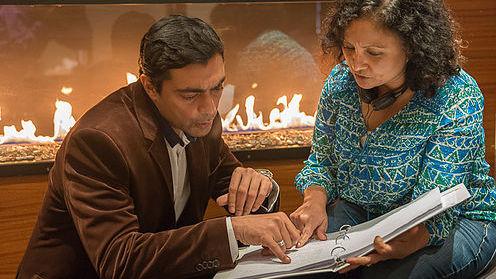 The Valley Saila Kariat Director Ally Khan