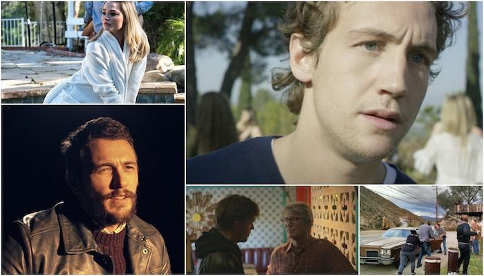 Actors Anonymous James Franco, Jake Robbins, Emma Rigby, Eric Roberts, Scott Haze