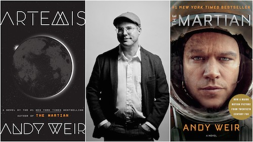 Andy Weir, author, the martian