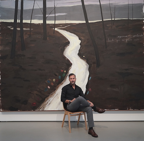 Artist Enrique Martínez Celaya
