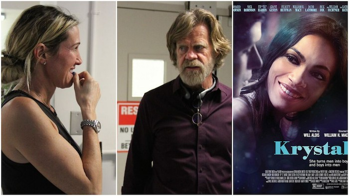 Arts Interview: William H Macy and Oscar-Nominated Producer Rachel Winter from 'Krystal'